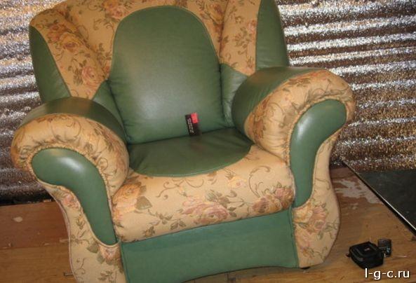 Перетяжка подлокотника к дивану своими руками
